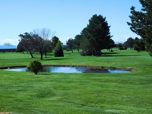 Purple Sage Golf course fairway