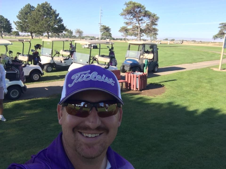 Coach Pete ready to golf